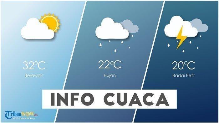 BMKG Peringatan Dini Cuaca Besok, 27 Maret 2020: Wilayah Jawa Tengah Berpotensi Hujan Lebat