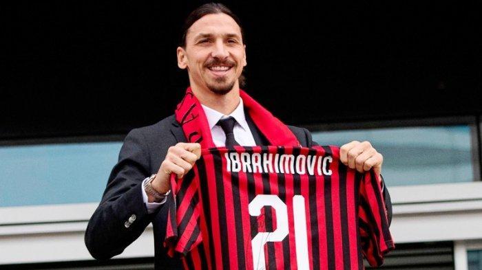 Zlatan Ibrahimovic Masih Pertimbangkan Perpanjangan Kontrak AC Milan